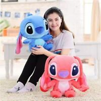 2Pcs Lilo Stitch Animal Plush Soft Touch Stuffed Doll Figure Kids Birthday Gift