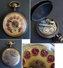 Régulateur Montre de gousset mécanique 19e siècle pocket watch