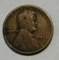 1911 Lincoln Wheat Cent in Lower Grade Condition       DUTCH AUCTION
