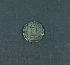 Antique Silver Love Token BHK BKH HBK HKB KBH KHB Initials 1876 Liberty Dime