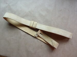 White Buff Leather Snider/Martini Henry Rifle Sling