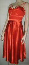 Little Mistress red orange occasion/party dress size 16