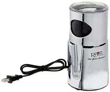 Revel CCM101CH 110 volt Wet and Dry Coffee Spice Grinder, Chrome