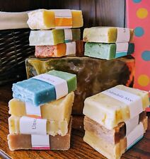 6-pack Samplers HANDMADE SOAP ~ Sophia Organic Soap Co. ~ Choose Scents