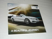 2014 BMW Brochure 4 Series Convertible F33 Z4 E89 M4 6 Series F06 i3 i8 UK car