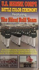 Ship N 24H-U S Marine Corps Battle Couleur Ceremony-The Silent Perceuse Team VHS