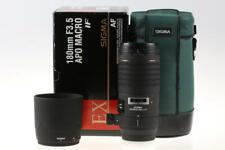 SIGMA 180mm f/3,5 IF APO Macro für Sony / Minolta - SNr: 1005390