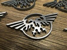 WarHammer Objective Markers - Imperial Eagle - Stainless Steel - 30mm