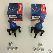 PAIR AUDI/SEAT/SKODA/VW FRONT SUSPENSION BALL JOINT NUTS&WASHERS KIT LEFT/RIGHT