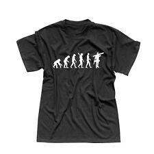 T-Shirt Evolution Handwerker Bauarbeiter Heimwerker 13 Farben Herren XS - 5XL