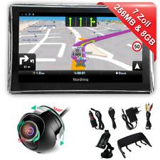7 pulgadas navegador para camiones automóviles GPS auto Navi con cámara de visión trasera con radar