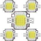 5pcs 10W Cool White High Power 800-900LM Lamp Bulb SMD Chip DC 9-12V