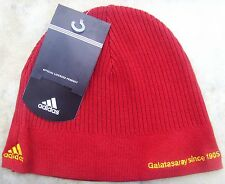 Galatasaray FC Football Club Red Adults Beanie Adidas Skull Hat BNWT Brand New