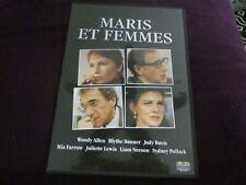 """DVD """"MARIS ET FEMMES"""" Woody ALLEN, Mia FARROW, Liam NEESON, Juliette LEWIS"""