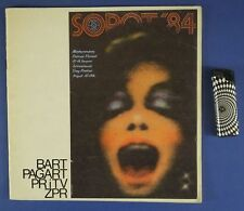 SOPOT FESTIVAL 1984 program  Ch.Aznavour,Jurgen Marcus,Maanam,Anne Veski,Shorts