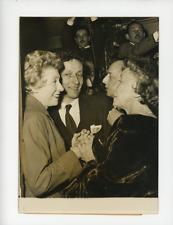 Patachou, Madeleine Renaud et Jean-Louis Barrault à Paris  Vintage silver print