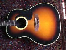 Kaman Ovation ApplauseRounback Acoustic Guitar