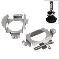 2x H7 LED Xenon Ampoule Adaptateur Fixation Support Pour Audi VW Nissan Mercedes