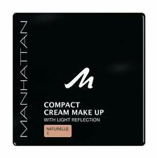 Manhattan Compact Make-Up Cream Powder 10g Shade 01Naturelle  x3 units