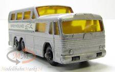 MATCHBOX Series No. 66 Bus (GMC) Greyhound Coach Regular Wheels Scale ca. 1:75