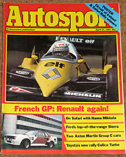 Autosport 21/4/83* FRENCH GP - ZOLDER F3 - EMKA ASTON - CELICA TURBO WRC