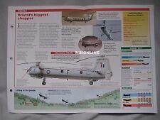 Aircraft of the World Card 13 , Group 3 - Bristol Belvedere