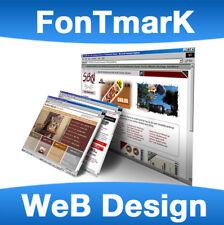 Any Website Custom Built logo and mobile friendly