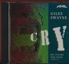 Giles Swayne -: Cry (1994) CD BBC Singers. John Poole. CD HLL.109