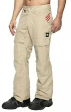 Men's Adidas Greeley Pants Snowboarding Ski Pants khaki color size L $190 Snow