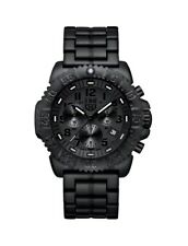 Navy SEAL Colormark Chronograph Men's Quartz watch with Black dial featuring LLT