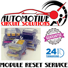 Ford Lincoln Mercury SRS Airbag Control Computer Module Reset Service All Years