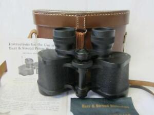 Superb Barr & Stroud C.F.24 8 x 30 Extra Wide Angle Binoculars (Mint/Cased)