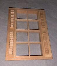 Housework's Ltd. 5003 Dollhouse 8 light Window w/ shudders Lot of 4 in Box