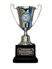 Special Award Silver Moment Cup Award Trophy (E) ENGRAVED FREE