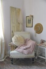 Jeanne d Arc Living Strickdecke Plaid Sofadecke Cottage rosa 130x170