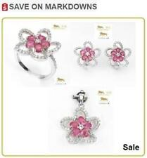 12 ct Ruby Ring, Earrings, Pendant Set *