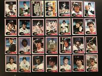 1981 Topps DETROIT TIGERS Complete TEAM Set MARK FIDRYCH Alan TRAMMELL Whitaker
