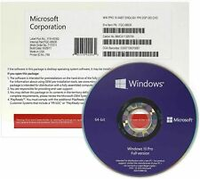 Genuine Microsoft Windows 10 Professional 64 Bit UK OEM - Digital Key
