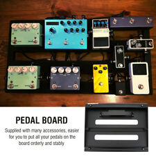 Electric Guitar Effect Pedal Board 35x28cm Pedalboard With Bag Case Hook & Loop