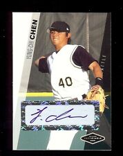 24) YUNG-CHI CHEN - Mariners 2006 Certified Sealed #'d AUTOGRAPH xx/200 RC LOT