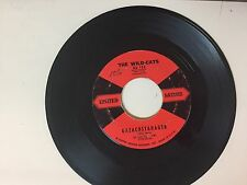 ROCK 45 RPM RECORD - THE WILD-CATS - UNITED ARTISTS 154