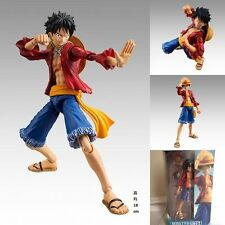 7'' Figma One Piece Movable Straw Hat Monkey D Luffy Action Figure Toy Figurine