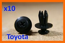 for Toyota mud guard flaps wheel arch fascia 10 panel push fastener clips