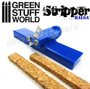 Balsa Stripper - Hobby Cutting Tools - Scratch Miniatures Scenery diorama