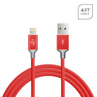 Lightning 4ft Sync Data and Charging Cable to USB Dock For Apple iPhone 6 Plus
