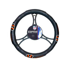 New NFL Cincinnati Bengals Synthetic leather Car Truck Steering Wheel Cover