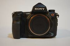 Sony Alpha a850 24.6 MP Digital SLR Camera - Black (Body Only) + accesories