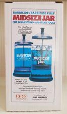Barbicide Disinfectant Jar Midsize 21 ounce Salon Spa Supplies Equipment Health