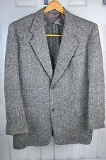 Vtg 1940s Rainbow Atomic Fleck Blazer 40L Rockabilly donegal Sport Coat c.1947