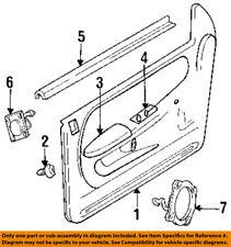 Dodge CHRYSLER OEM 94-01 Ram 1500 Front Door-Cup Left 4741405
